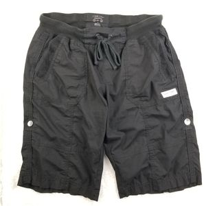 Calvin Klein Black Waistband Cargo Shorts Medium